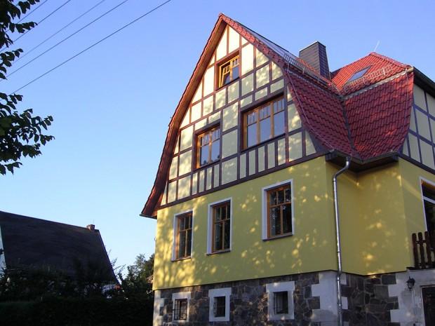 Fenster im Fachwerkhaus