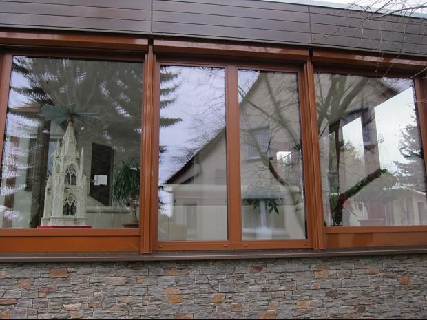 Maßgefertigte Fensterfront