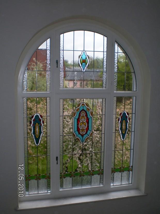 Bunte Fenster in Schleiz