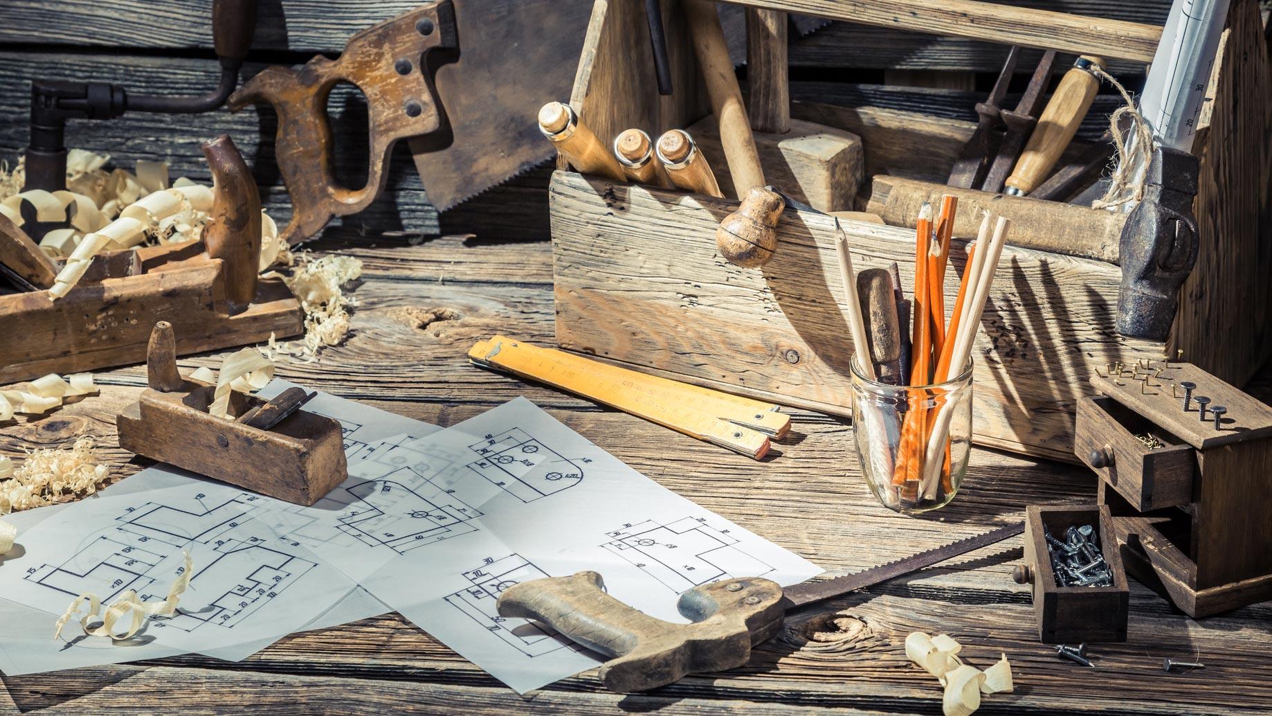 Neubau, Renovierung und Sanierung